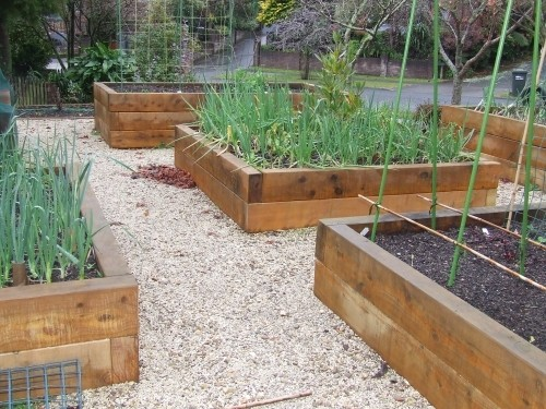 Raised Beds In Your Garden Containers